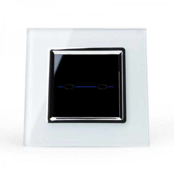 Выключатель импульсный двухлинейный (белый) - 1
