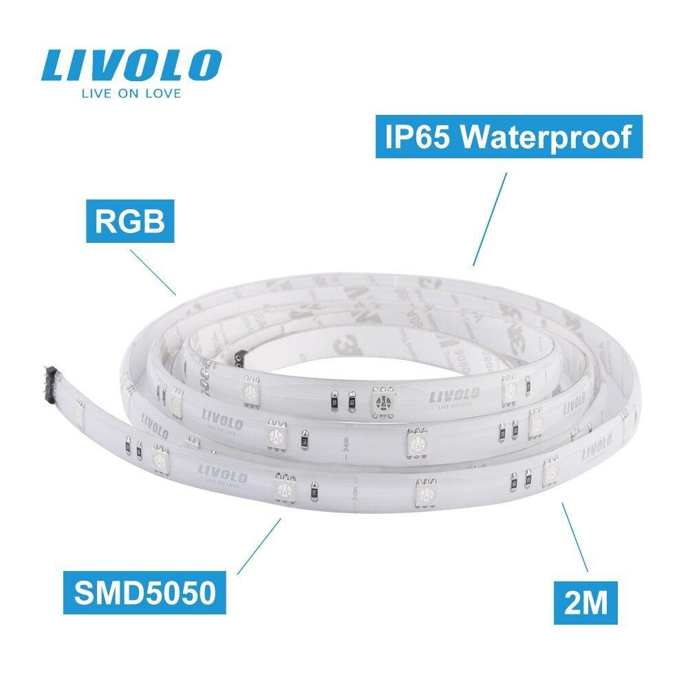 Умная ZigBee светодиодная RGB LED лента Livolo - 1
