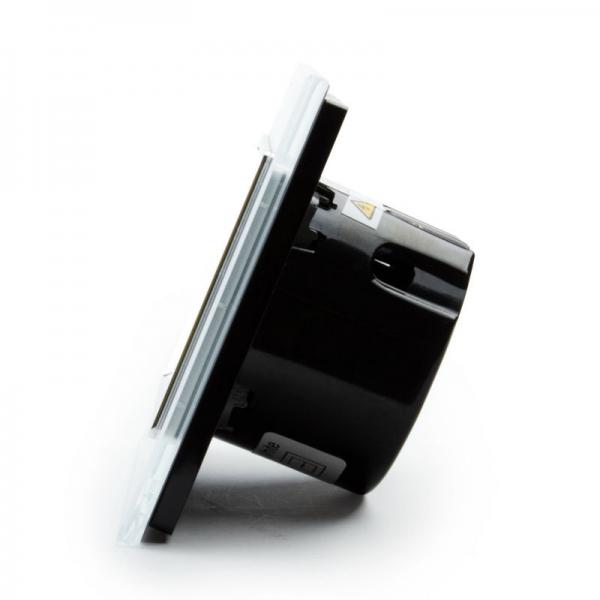 Выключатель проходной двухлинейный (белый) - 3