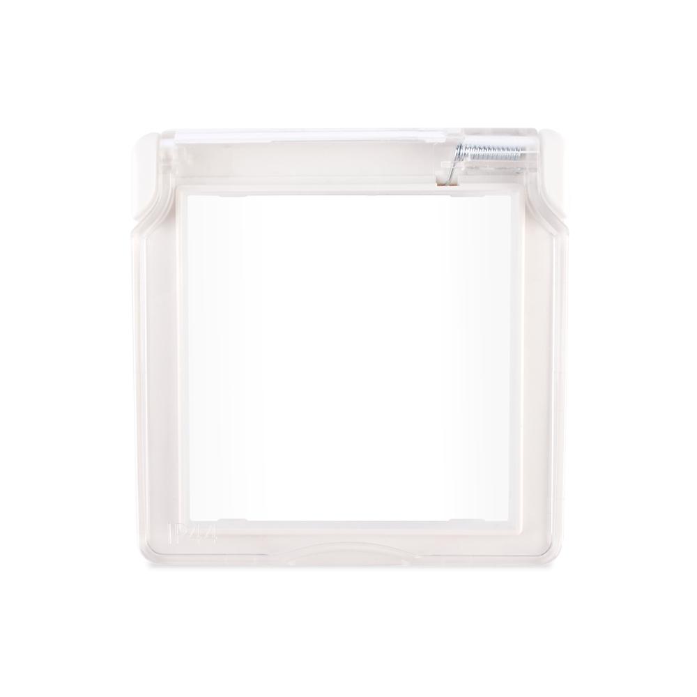 Водонепроницаемая крышка для розеток LIVOLO белая - 1