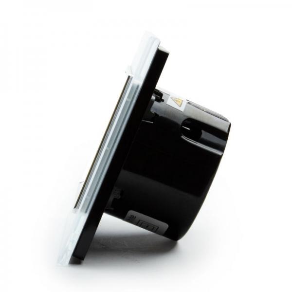 Выключатель импульсный двухлинейный для штор с функцией ДУ(белый) - 3