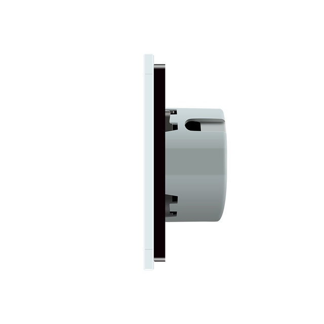 Выключатель импульсный двухлинейный (серый) - 2