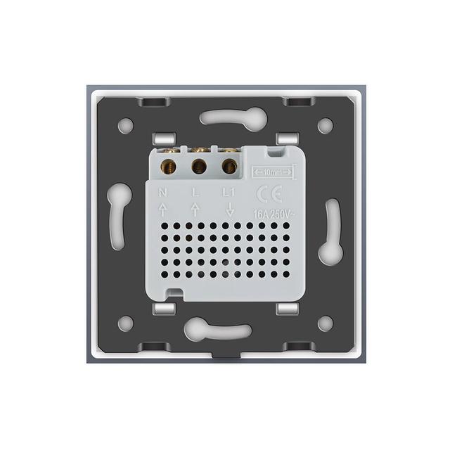 Терморегулятор  теплого пола черный - 1