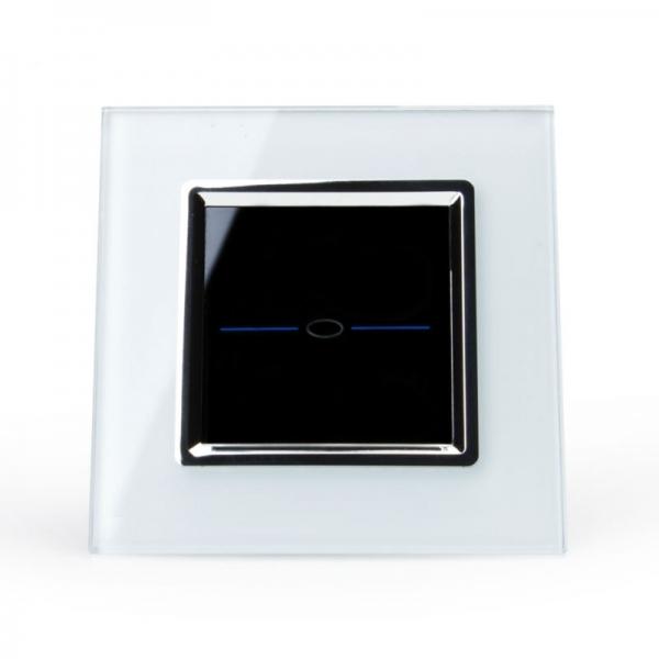 Выключатель импульсный (сухой контакт) однолинейный (белый) - 1