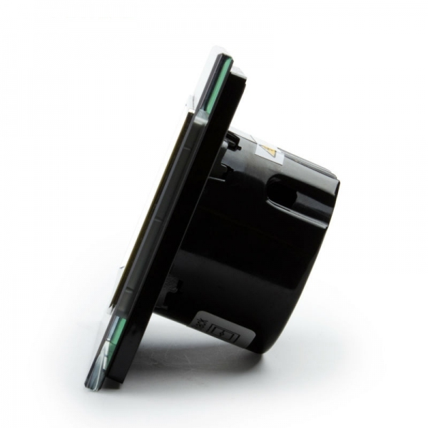 Выключатель импульсный(сухой контакт) однолинейный (черный) - 3