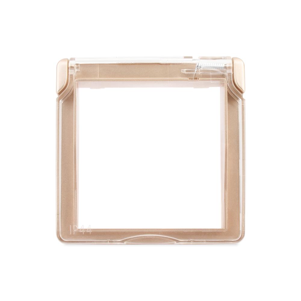 Водонепроницаемая крышка для розеток LIVOLO Золото - 1