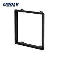 Декоративная вставка в рамку Livolo цвет черный - Декоративные вставки для рамок / «LIVOLO.Ru»